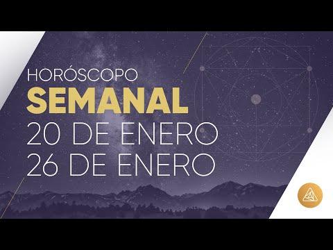HOROSCOPO SEMANAL | 20 AL 26 DE ENERO | AÑO NUEVO CHINO | ALFONSO LEÓN