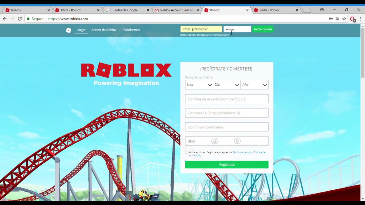Cuentas De Roblox