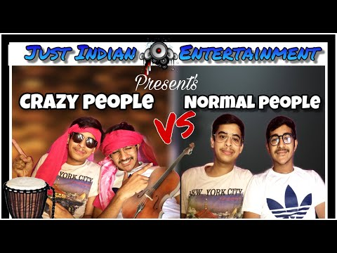 Normal People's VS Crazy People || Just Indian Entertainment || comedy video 2019 #comedyvideo