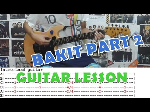Bakit Part 2 Mayonnaiseguitar Lessoncoverwith Chords And Tab