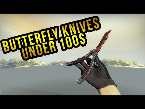 CSGO Best Cheap Butterfly Knives Under 100$