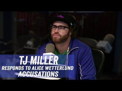 TJ Miller Responds to Alice Wetterlund Accusations