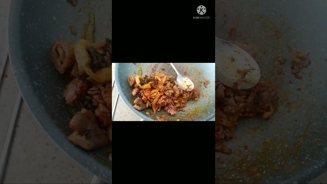 곱창 볶음밥 giblets fried rice