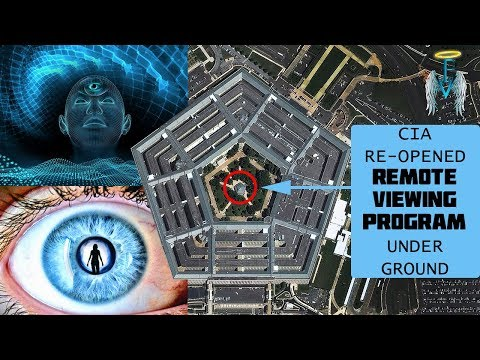 Psychic Connects To CIA Remote Viewer INSIDE PENTAGON