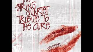 The String Quartet Tribute To The Cure - Boys Don