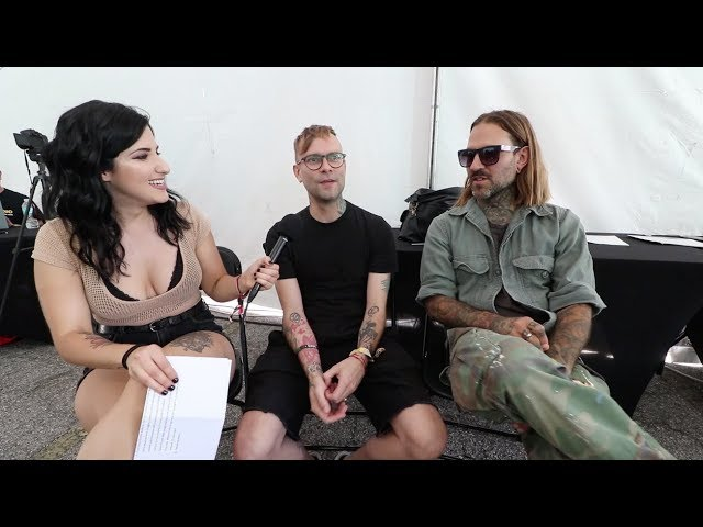 Bert McCracken and Jeph Howard from The Used Discuss The Canyon, The End of Warped Tour, and More