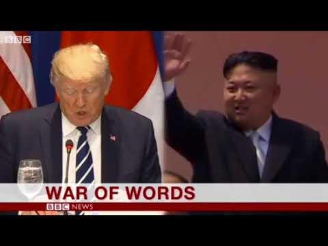 2017 September 22 BBC One Minute World News
