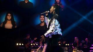 Jemima Hicintuka sjunger Jag kommer i Idol 2017 - Idol Sverige (TV4)