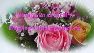 Vina Morales ~ Sana Ay Ikaw Na Nga ~ With Lyrics On Screen