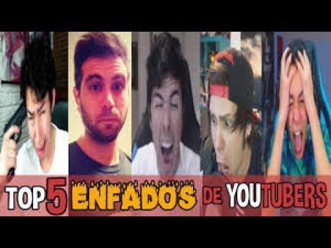 TOP 5 MAYORES ENFADOS DE YOUTUBERS   FERNANFLOO, VEGETTA777, WILLYREX, ELRUBIUS, GREFG #1