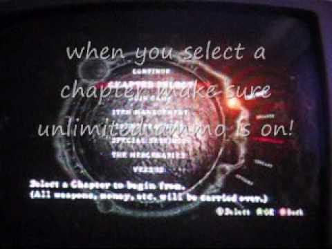 <b>Resident Evil 5</b>- infinite ammo tutorial - YouTube