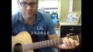 How to play C/G guitar chord (Slash Chords)