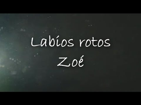 Zoe - Lipstick (Lyrics)
