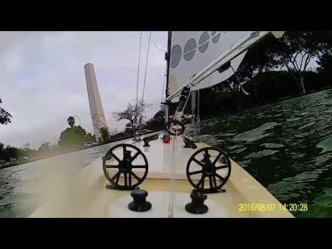 Sailboat RC -  Vela One Meter - Nautimodelismo Ibirapuera