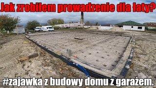 Jak zrobiłem prowadzenie dla łaty do ściagania chudziaka? #zajawka z budowy  #domza150tysiecy.pl