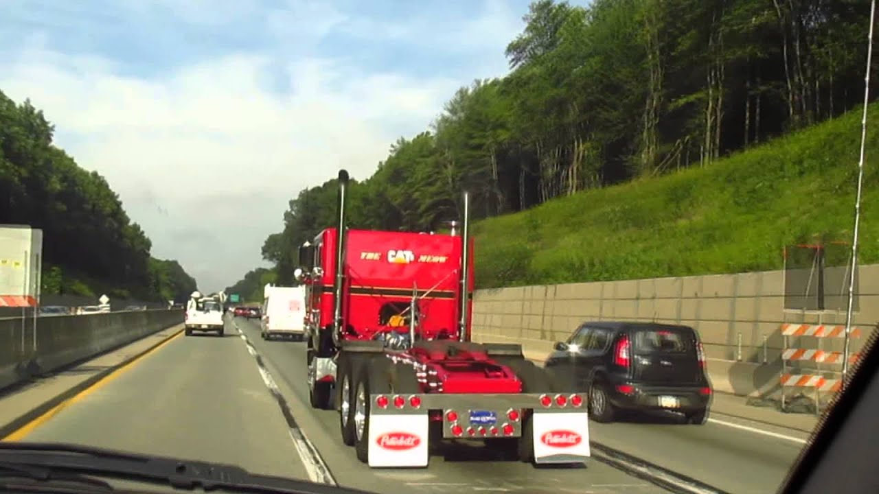 Peterbilt Cabovers - Restored Cab Over Peterbilt And Passing A Custom Pete On The Pa Turnpike Youtube - Peterbilt Cabovers