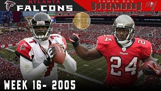 Playoff Hopes on the Line During the Holiday Season! (Falcons vs. Buccaneers, 2005) | NFL Highlights
