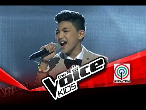 "The Voice Kids Philippines Semi Finals ""One Moment In Time"" by Darren"