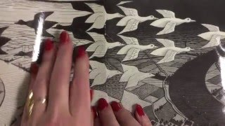 Kids Can Draw: M. C. Escher Tessellations