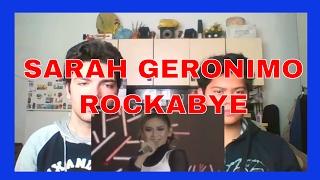 Sarah Geronimo singing Rockabye by Clean Bandit REACTION