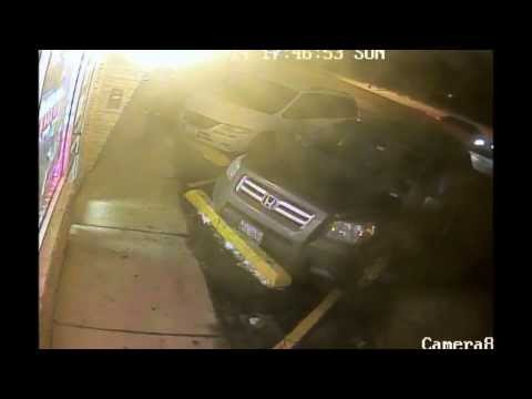 WARNING GRAPHIC: Surveillance video of Bensenville robbery