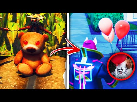 Top 5 Spooky Fortnite Easter Eggs THAT WILL MAKE YOU TERRIFIED!