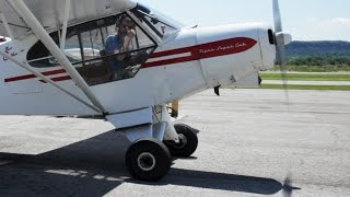 My 1st Solo!… AGAIN! - best + WORST landings back to back - Super Cub - Tail Wheel Flying