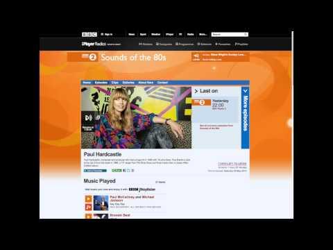 Radio 2  Interview with Sara Cox
