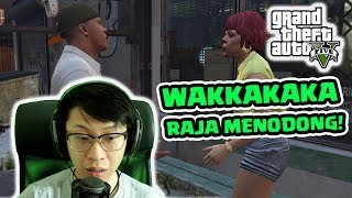 vuclip NGAKAK! DEREK MOBIL ORANG! GTA 5 Story Mode #5 -  MAIN AMPE TAMAT!