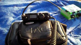 qrp ft 817 20m qso with w6rxk from maui hi