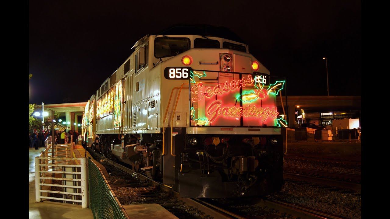 Metrolink Christmas Train 2020 Christmas Trains in Southern California   YouTube