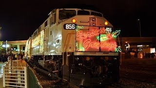 Christmas Trains in Southern California