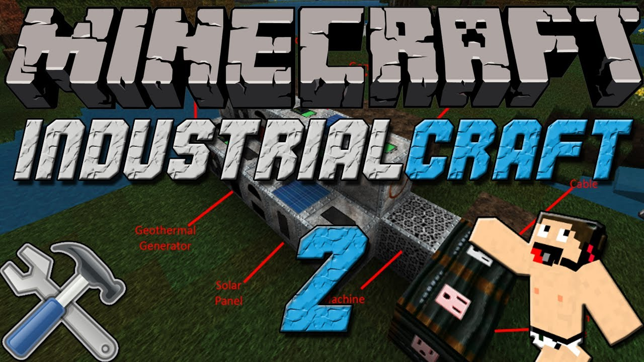 Мод для minecraft industrial craft 1.8