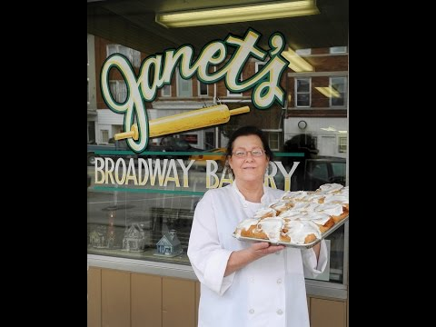 Faces of Downtown Greenville - Janet's Broadway Bakery
