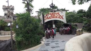 NEW updated Redhead scene in Pirates of the Caribbean at Disneyland Paris