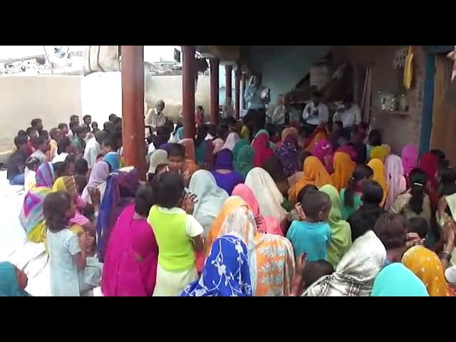 Culto de adoração da nossa Igreja Fonte dos Milagres na India.