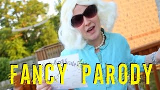 Fancy - Iggy Azalea (Funniest Parody) The Queen Gets Lost In The Ghetto