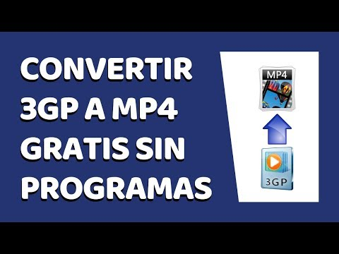 How to Convert 3GP Video to MP4 Without Software 2018