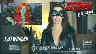Catwoman Tired Of Quarantine becomes Cat Video Meme.  Poison Ivy to the Rescue?