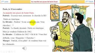 تعلم اللغة الفرنسية - المحادثه 4