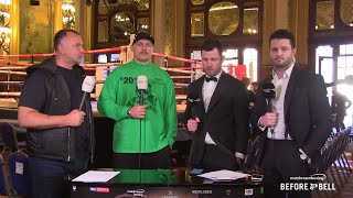 Oleksandr Usyk eyes fight with Derek Chisora, talks Butaev vs Besputin & more!
