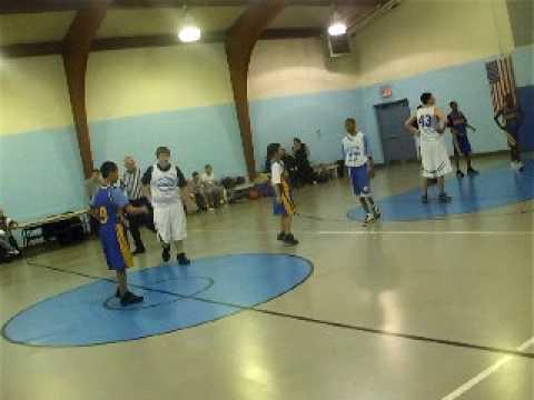 krikbride vs sharswood 08 to 09 basketball game