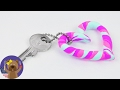 Silk Clay KEYCHAIN Heart | Easy and Fun | Present Idea | Good Luck