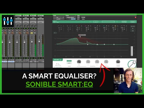 Overview of the smart:EQ+ Plugin from Sonible