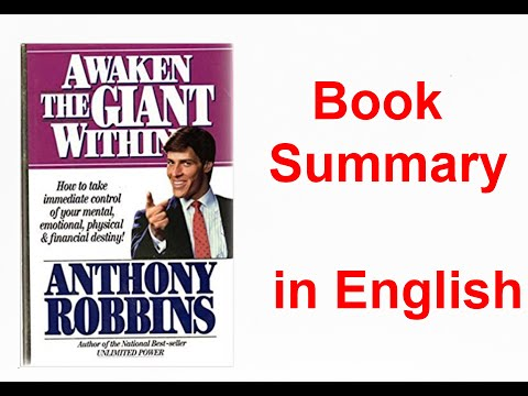 #bemotivated #book #booksummary Book Summary - Awaken The Giant Within By Tony Robbins in English