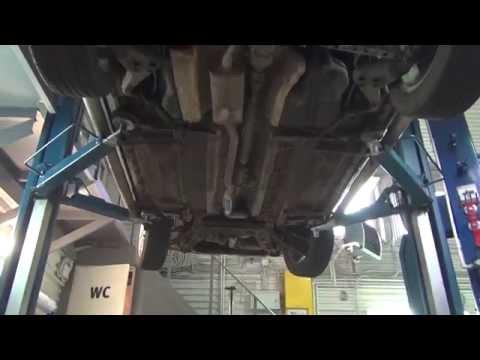 Катализатор на авто Nissan X Trail. Катализатор на авто Nissan X Trail ремонт и замена