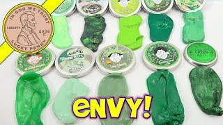 HUGE Collection Green Crazy Aaron's Putty Review