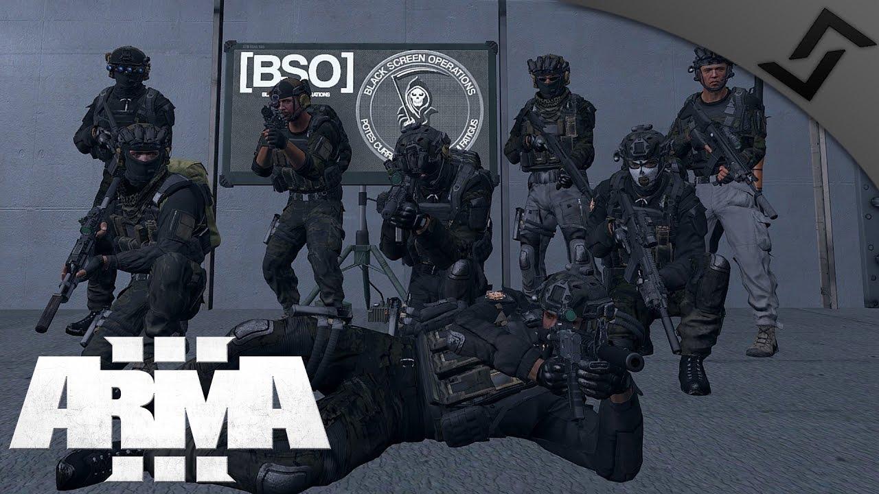 Super Secret SOCOM Raid - ARMA 3 Ft  Luetin & OperatorDrewski & BSO Group -  YouTube