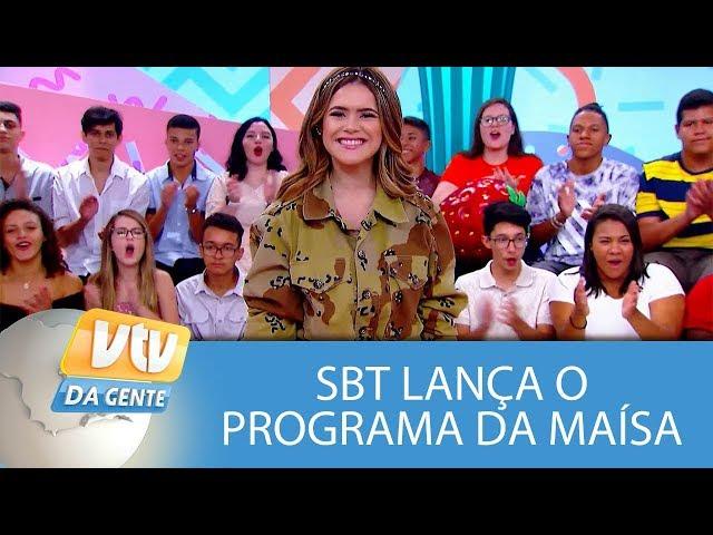 SBT lança o Programa da Maísa