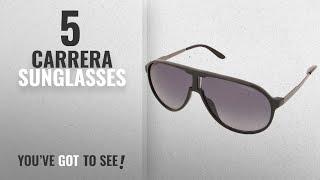 Top 10 Carrera Sunglasses [2018]: Carrera UV Protected Aviator Unisex Sunglasses - (NEW CHAMPION
